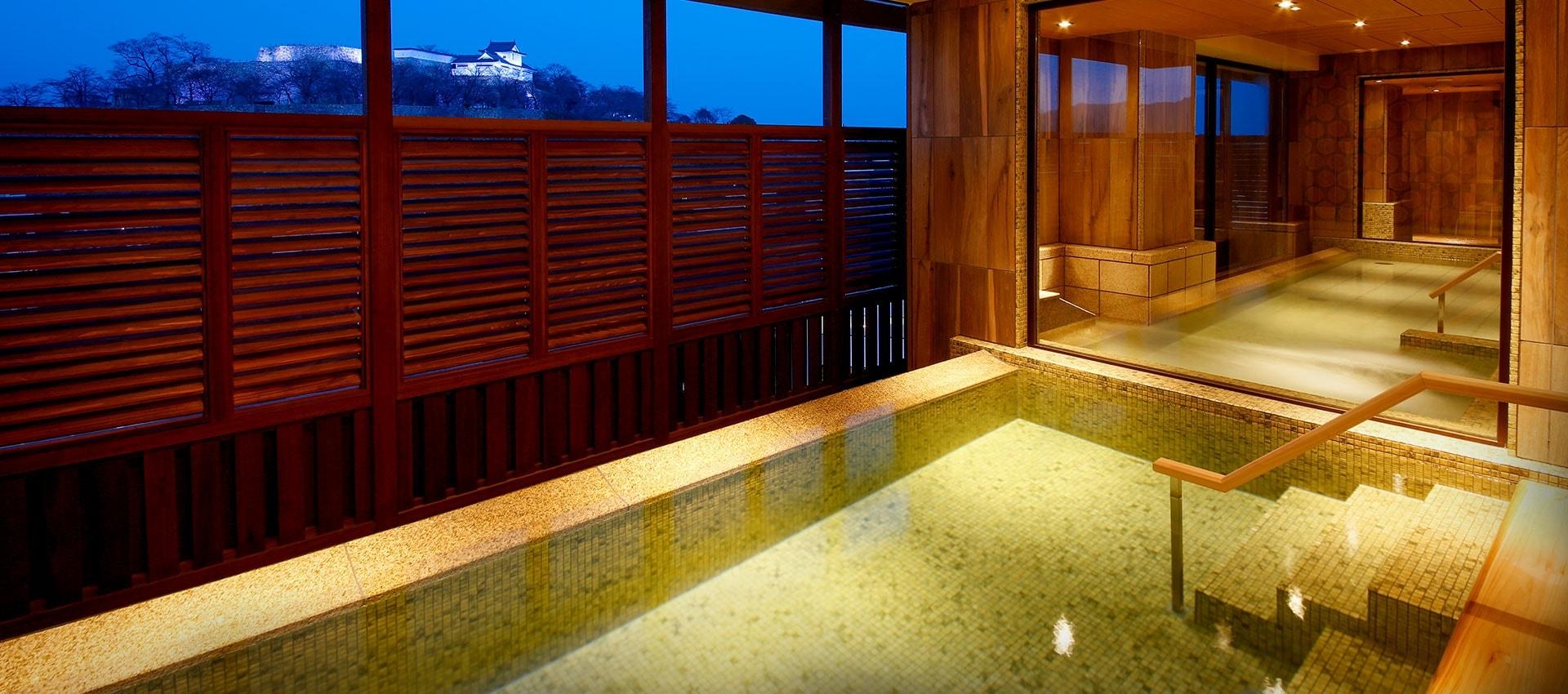 ザ・シロヤマテラス津山別邸の温泉画像
